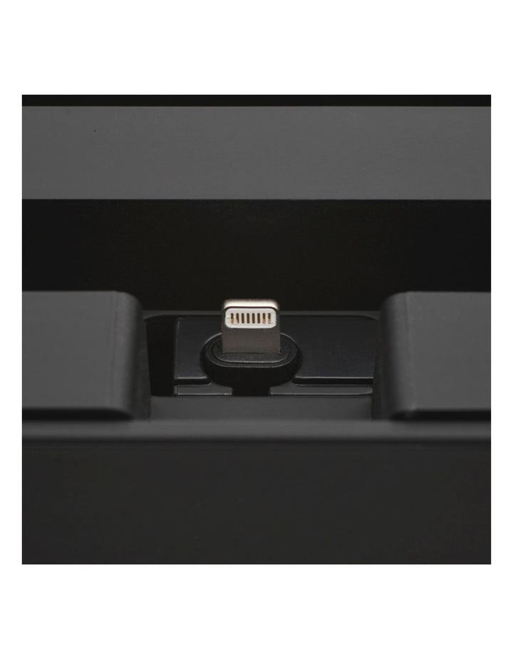 Apple Mfi One Hand Click Docking System Black image 2