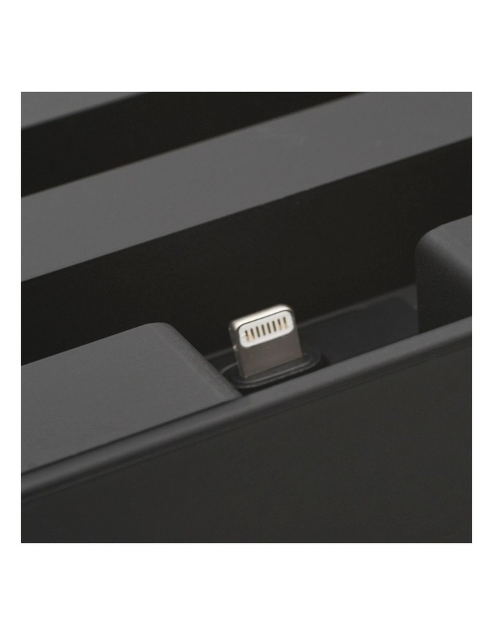 Apple Mfi One Hand Click Docking System Black image 3