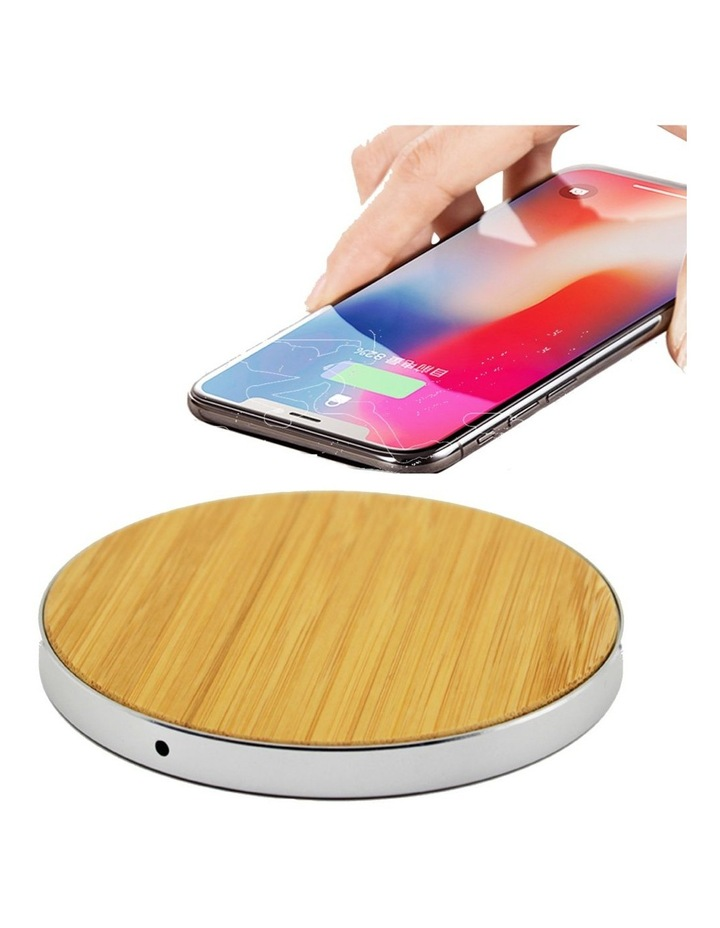 LuxeTech Wireless Pad - Bamboo image 1