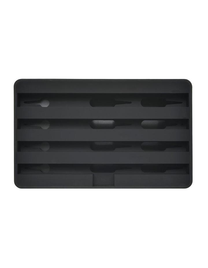 Medium Black Base with Black Top image 3