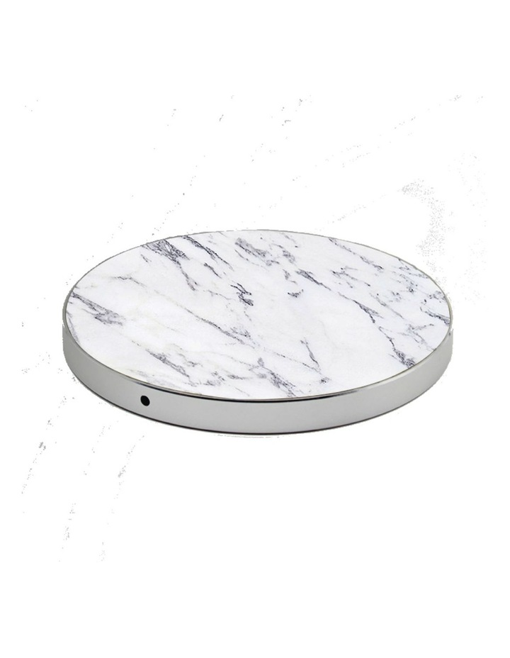 LuxeTech Wireless Pad - White Marble image 2