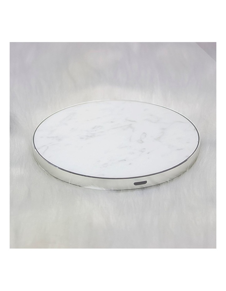 LuxeTech Wireless Pad - White Marble image 6