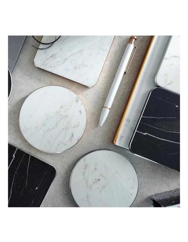 LuxeTech Wireless Pad - White Marble image 7