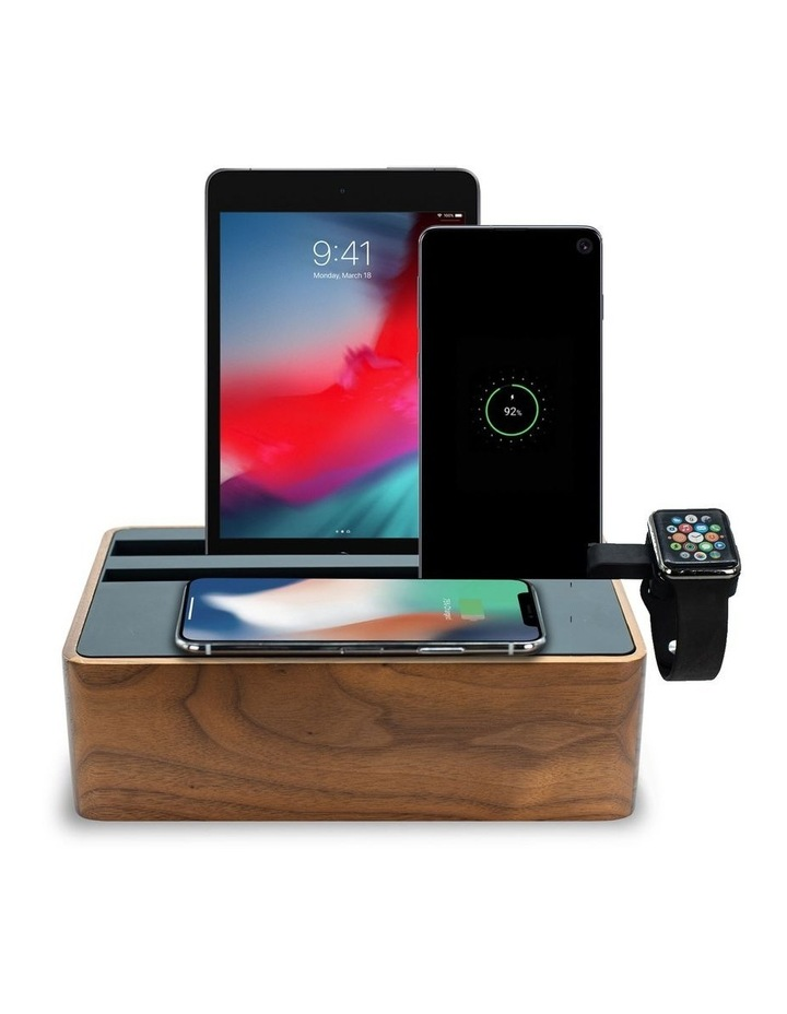Wireless Walnut & Black Apple Watch Package image 1