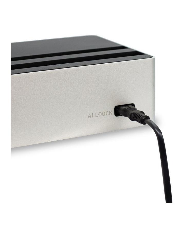 Wireless Aluminium Silver & Black Apple Watch Package image 4