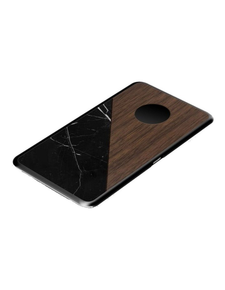 LuxeTech Dual Wireless Pad - Walnut / Black Marble image 4