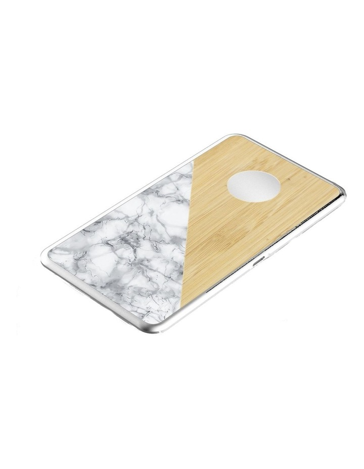LuxeTech Dual Wireless Pad - Bamboo / White Marble image 6