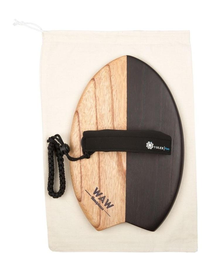 Bodysurfing Handplane Handboard Timber Nearly Black image 3