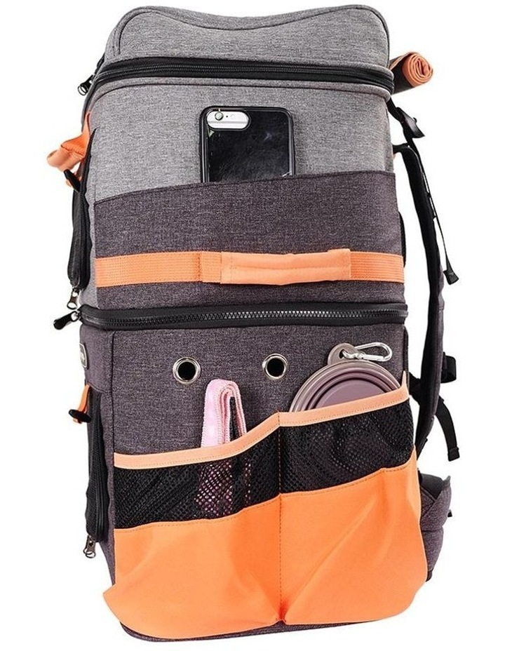 TWO-TIER HANDSFREE PET BACKPACK CARRIER image 2