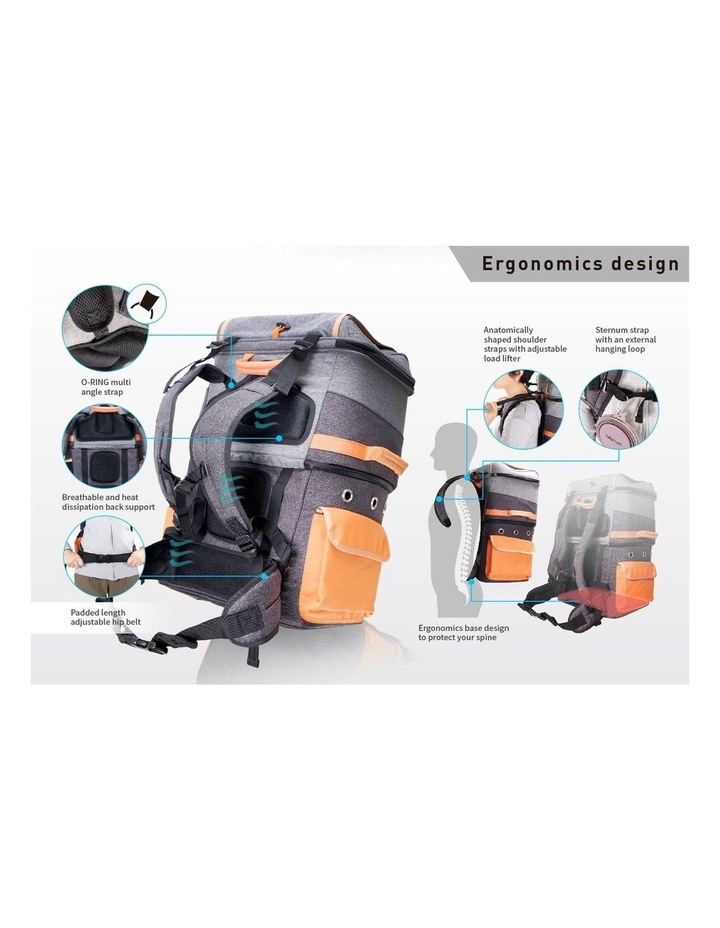 TWO-TIER HANDSFREE PET BACKPACK CARRIER image 3