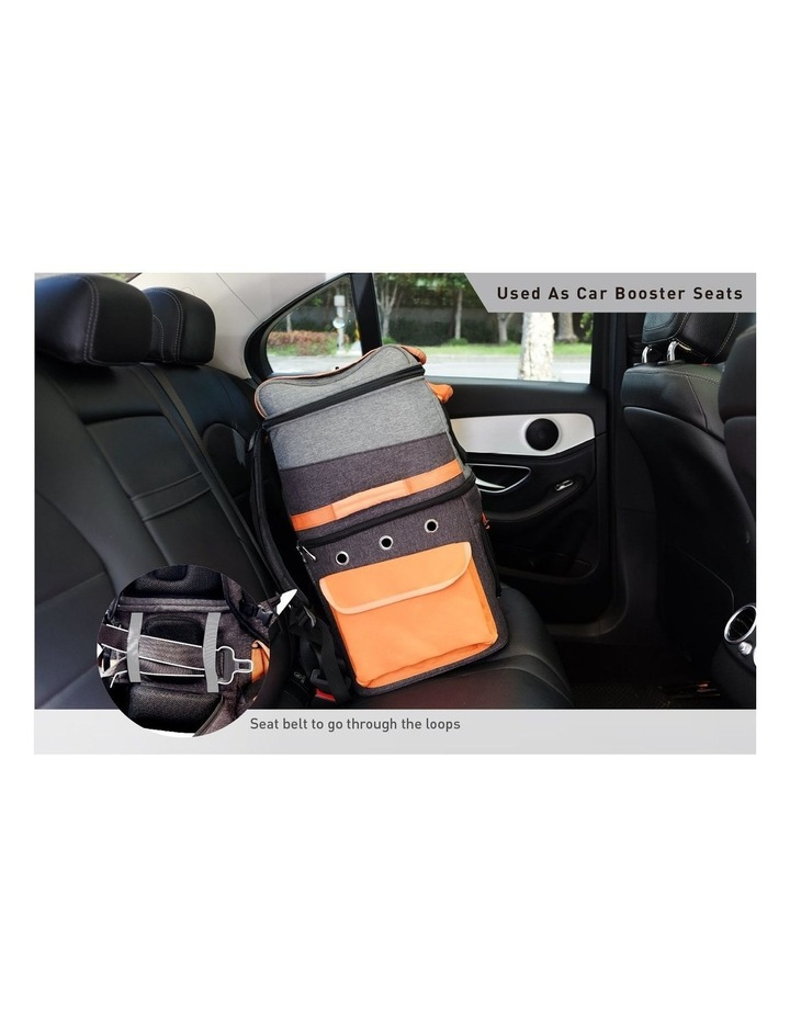 TWO-TIER HANDSFREE PET BACKPACK CARRIER image 5