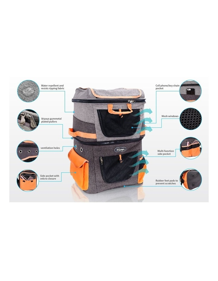TWO-TIER HANDSFREE PET BACKPACK CARRIER image 6