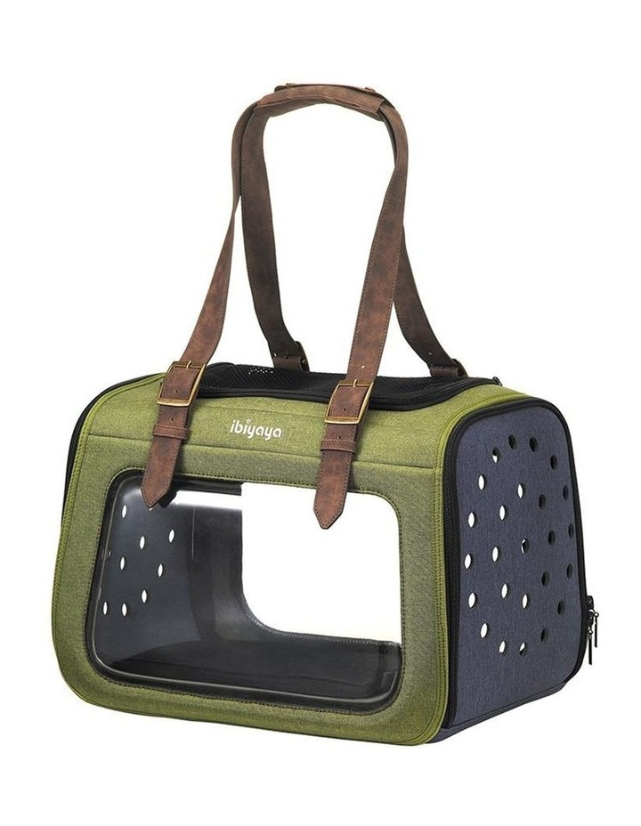 Portico Mixed-Fabric Pet Transporter image 1