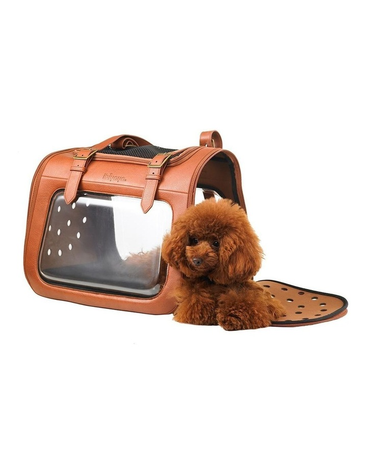 Portico Deluxe Leather Pet Transporter image 4
