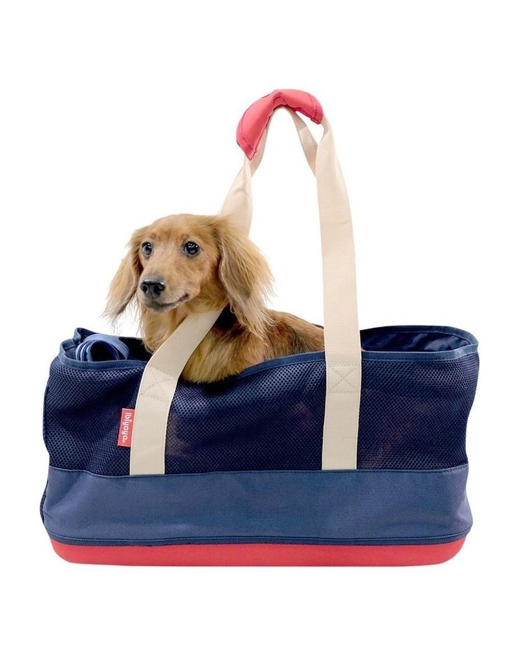 Light Pet Carrier with Hardshell Base for Dachshunds & Long Pets image 2