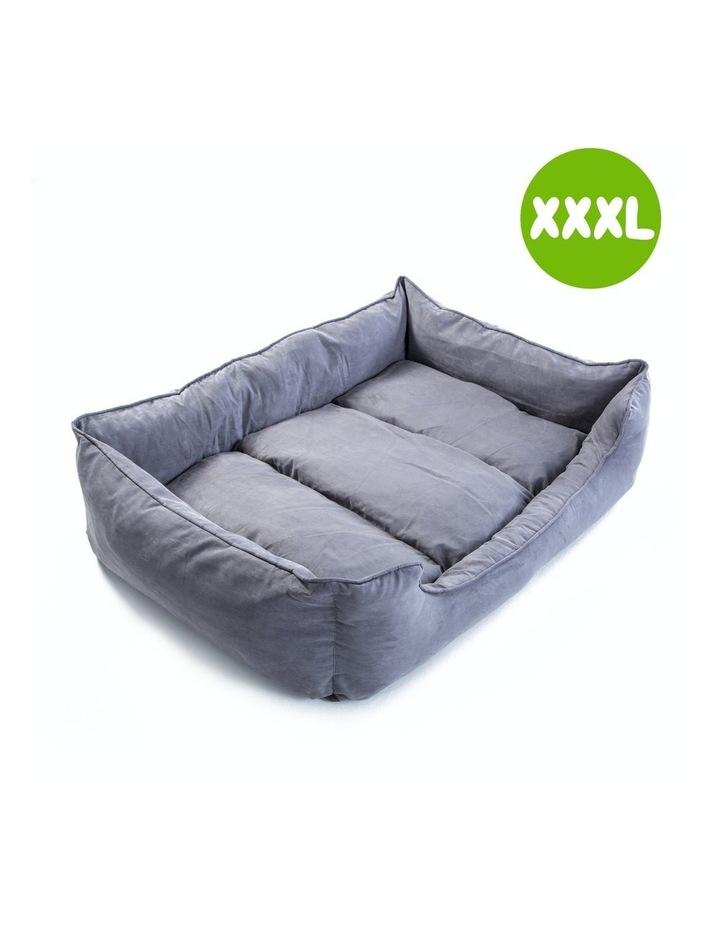XXXL Pet Suede Sofa HUSK - GREY image 1