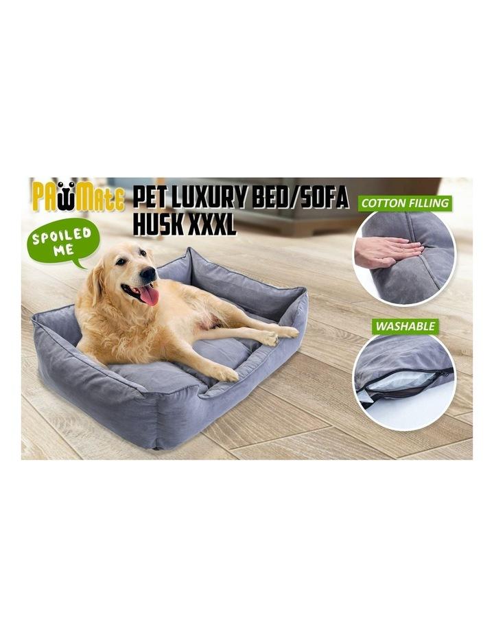 XXXL Pet Suede Sofa HUSK - GREY image 3