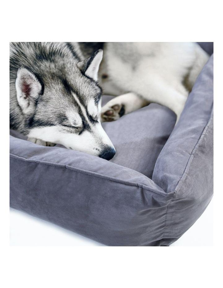 XXXL Pet Suede Sofa HUSK - GREY image 4