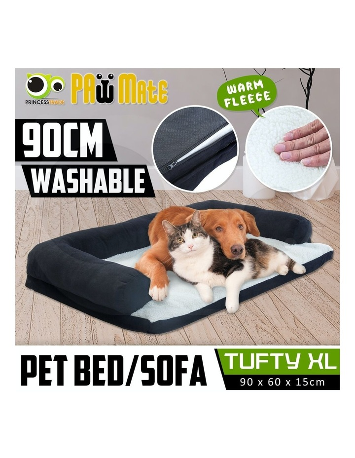 Extra Large Pet Couch - Black image 2