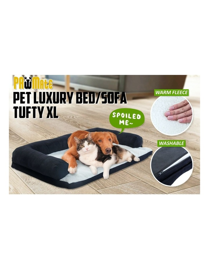 Extra Large Pet Couch - Black image 3