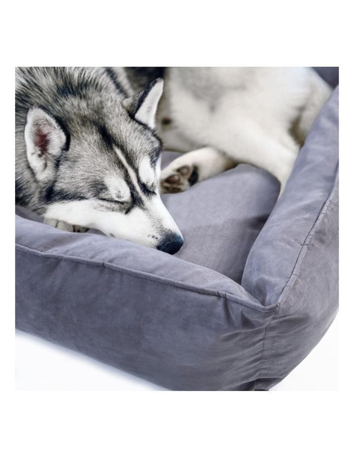 Large Pet Suede Sofa HUSK - GREY image 4