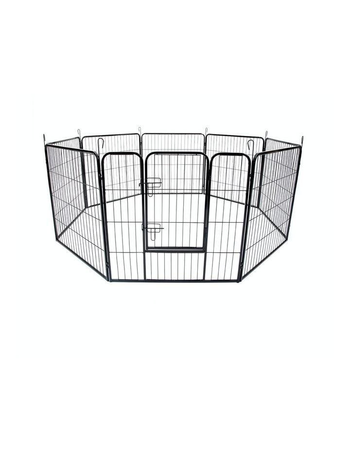 "32"" Heavy Duty 8 Panel Foldable Pet Playpen image 1"