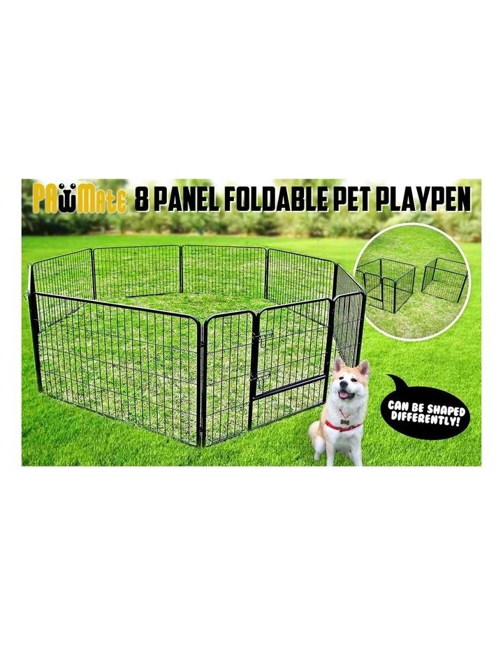 "32"" Heavy Duty 8 Panel Foldable Pet Playpen image 4"