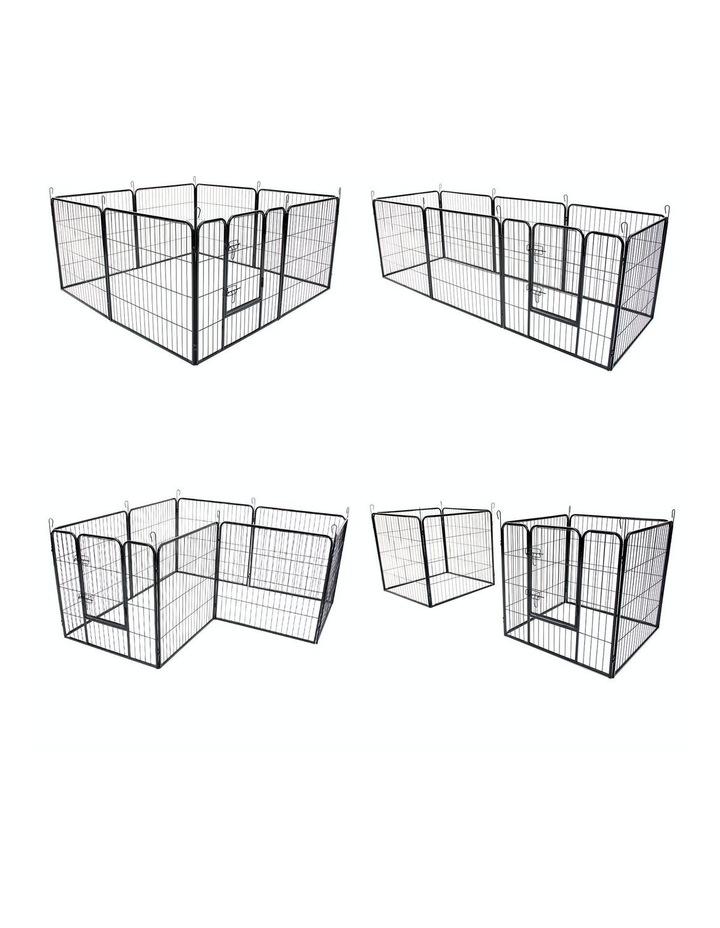"32"" Heavy Duty 8 Panel Foldable Pet Playpen image 5"
