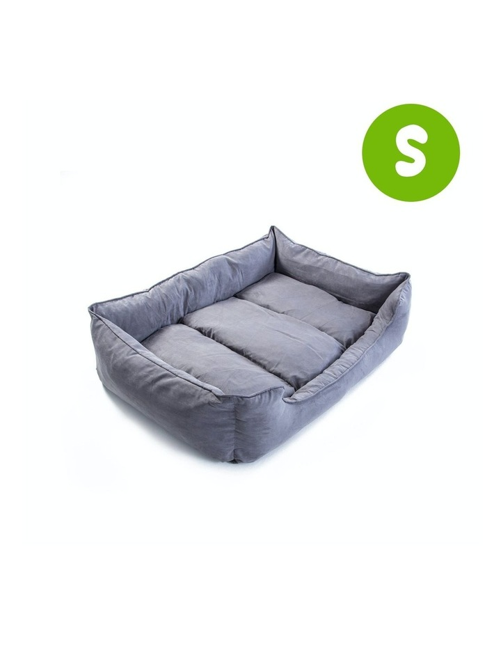 Small Pet Suede Sofa HUSK - GREY image 1