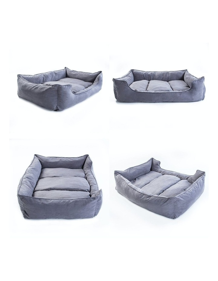Small Pet Suede Sofa HUSK - GREY image 6