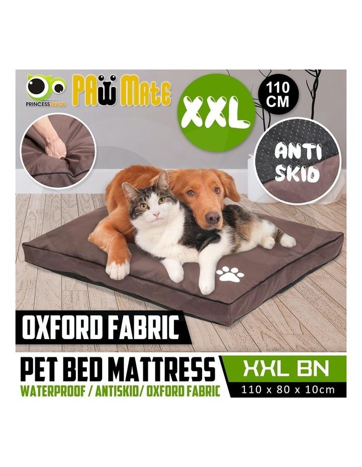 XXL Pet Bed Mattress - Brown image 6