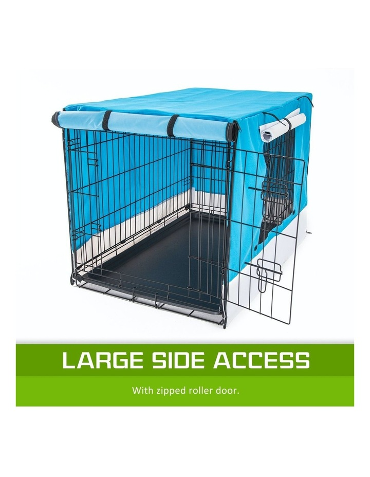 """48"""" Cover for Wire Dog Cage - BLUE image 6"""