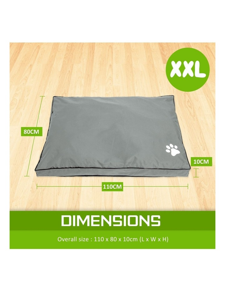 XXL Pet Bed Mattress - Light Grey image 4