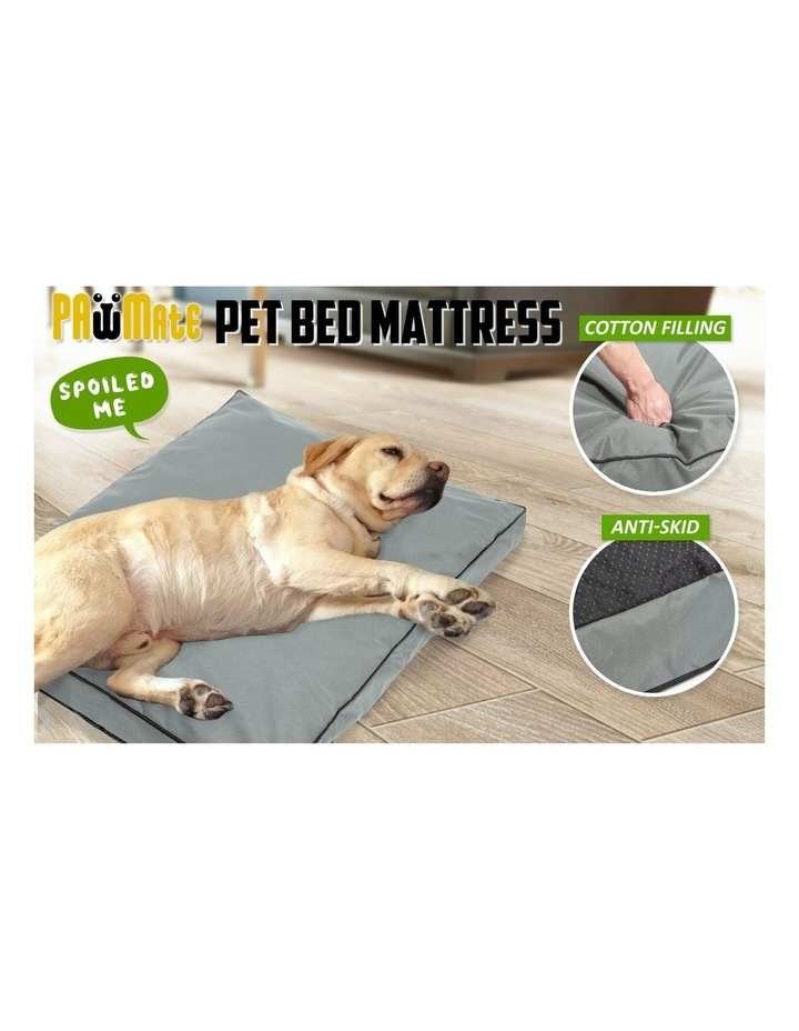 XXL Pet Bed Mattress - Light Grey image 6