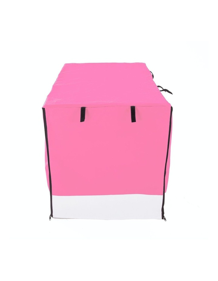 """36"""" Cover for Wire Dog Cage - PINK image 1"""
