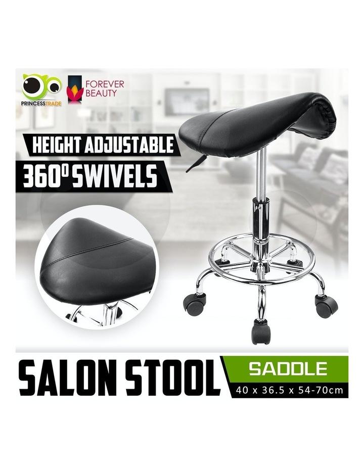 Saddle Salon Stool image 2