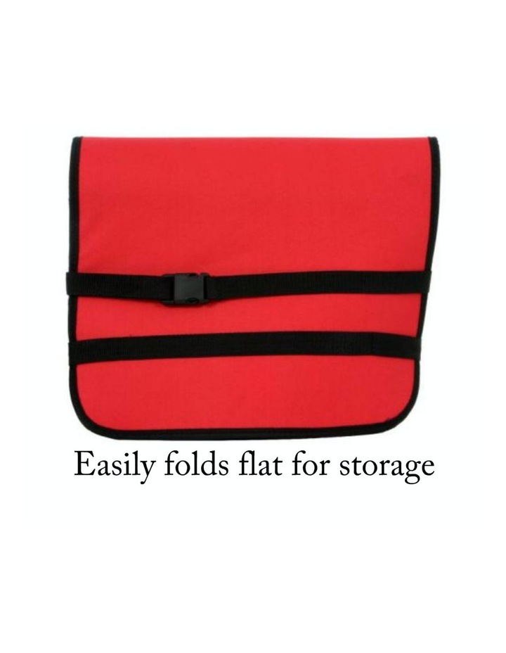 Large Portable Pet Booster Soft Crate - RED image 5