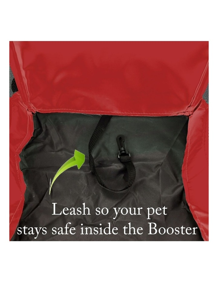 Large Portable Pet Booster Soft Crate - RED image 6