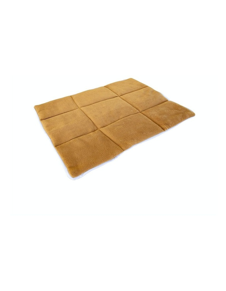 "42"" Cushion Mat For Wire Dog Cage - Beige image 1"