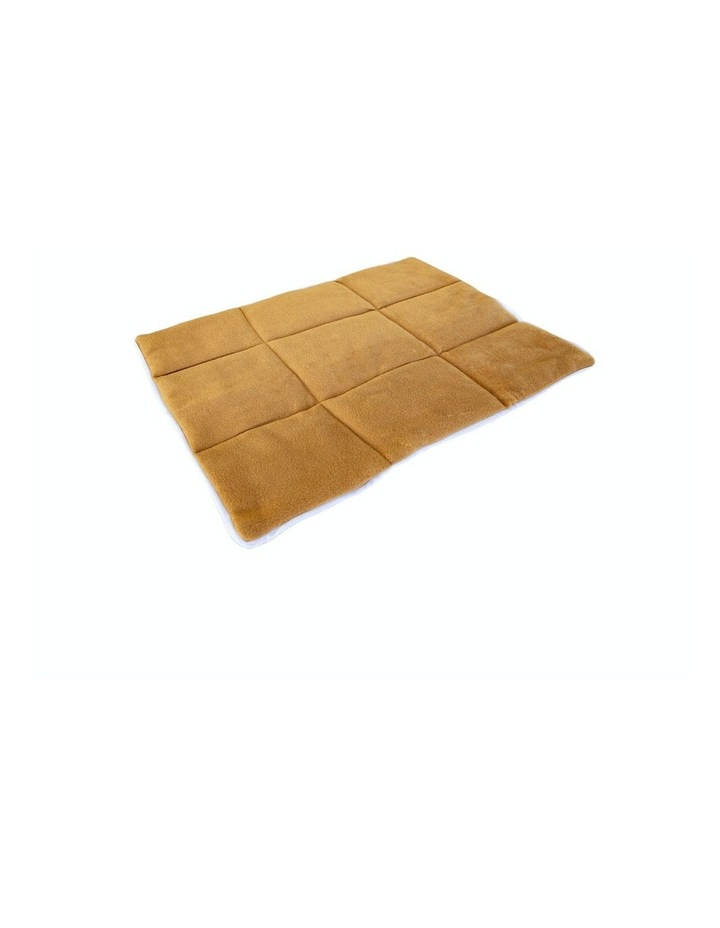 """24"""" Cushion Mat For Wire Dog Cage - Beige image 1"""