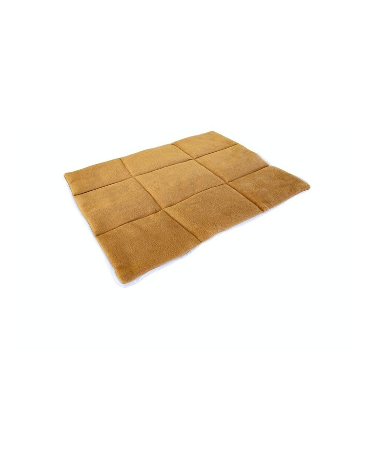 """30"""" Cushion Mat For Wire Dog Cage - Beige image 1"""