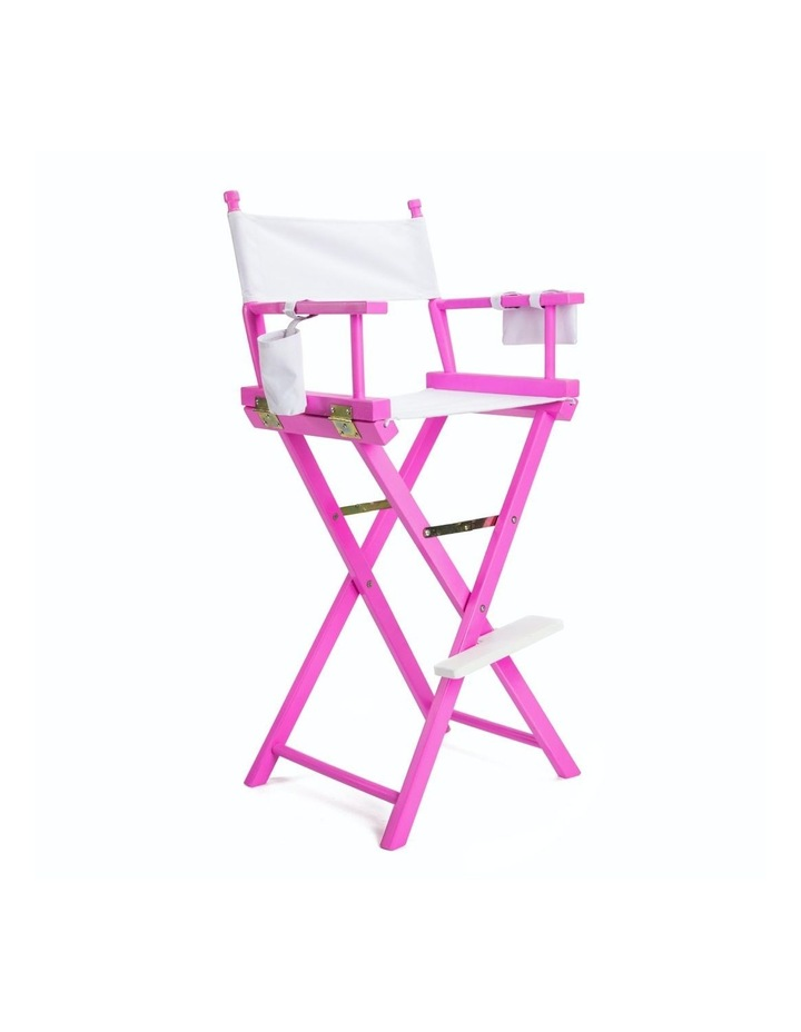 77cm Tall Director Chair - PINK HUMOR image 1
