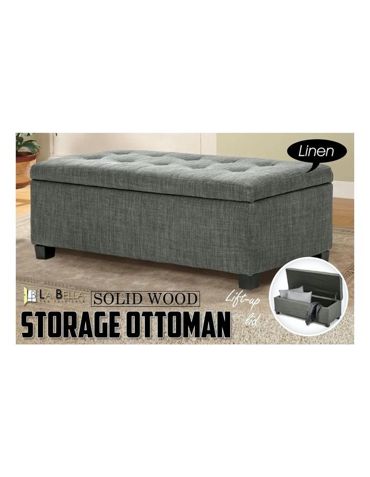 102cm Storage Ottoman Fabric image 3