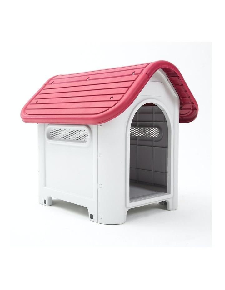 M Plastic Dog Kennel LUNA - PINK image 3