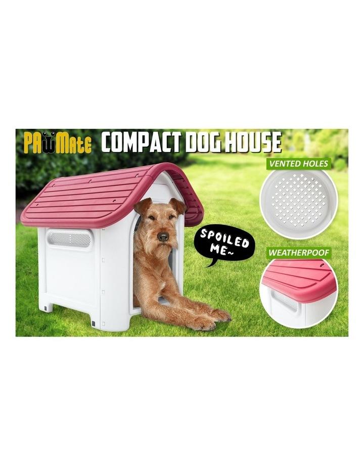 M Plastic Dog Kennel LUNA - PINK image 4