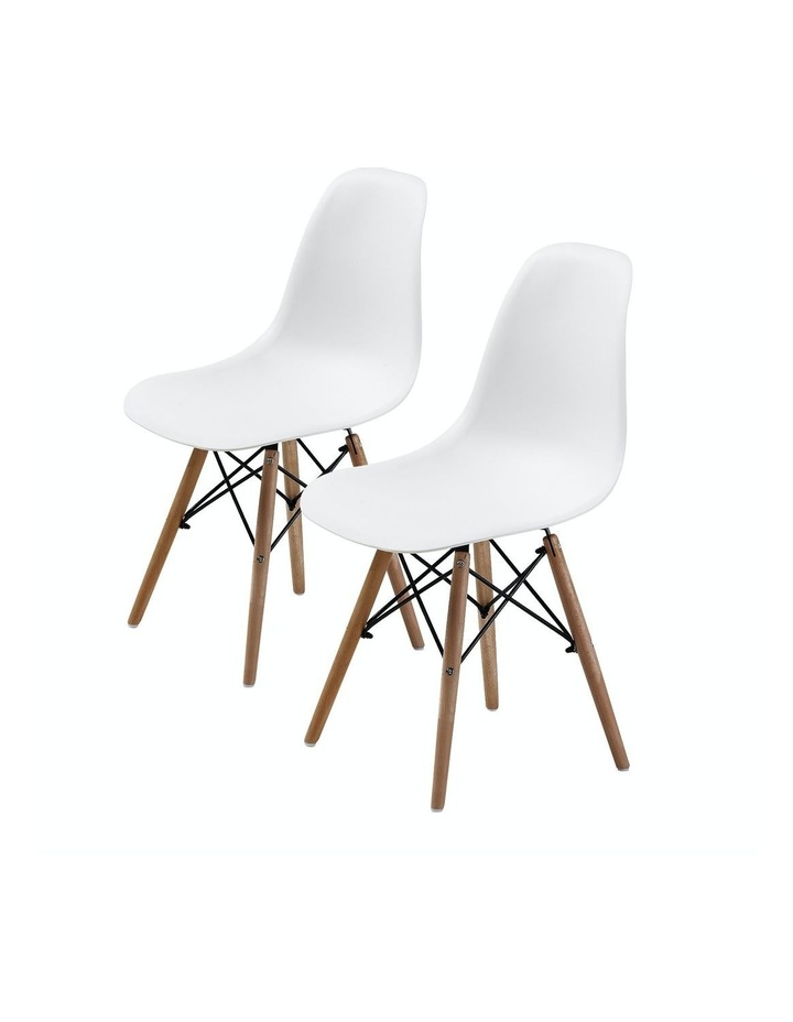 Dsw Dining Chair - White X2 image 1