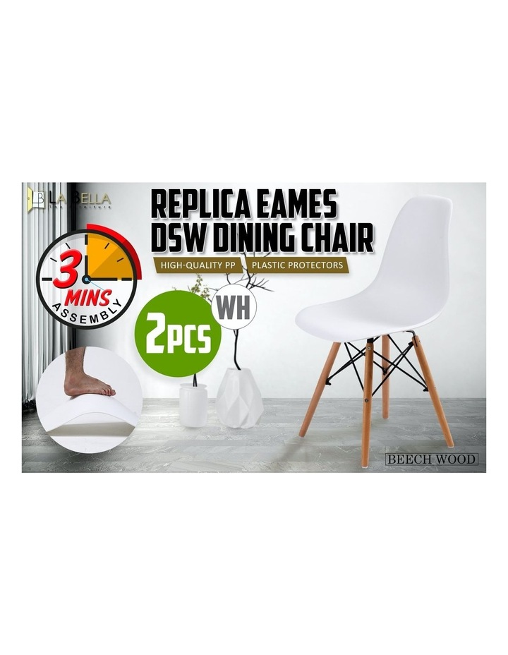 Dsw Dining Chair - White X2 image 3