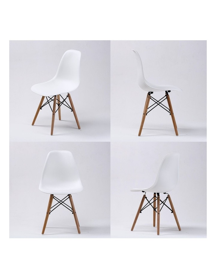 Dsw Dining Chair - White X2 image 4