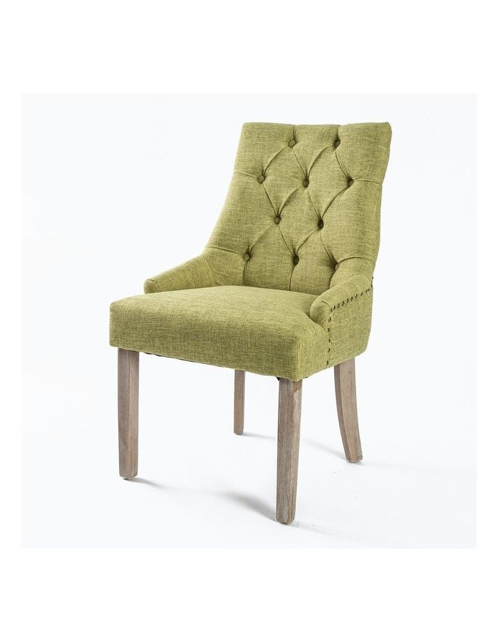 French Provincial Oak Leg Chair image 1