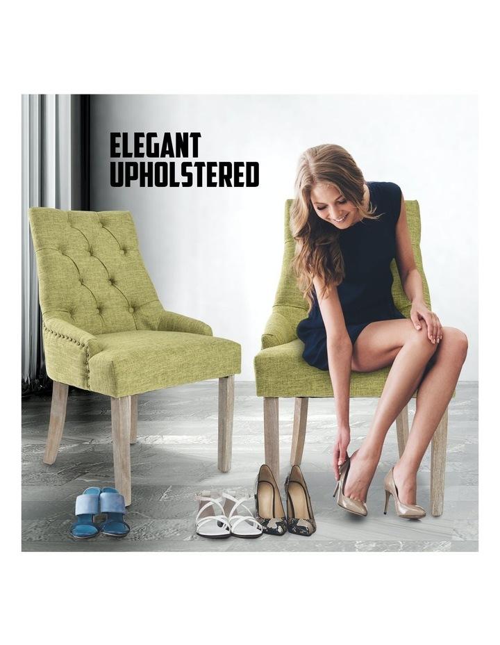 French Provincial Oak Leg Chair image 4